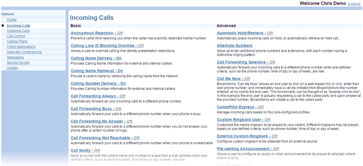User-Incoming-Calls-Menu